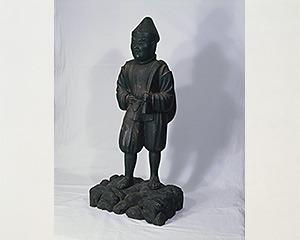 大国主大神木像