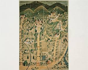 三輪山絵図
