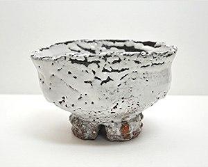 三輪壽雪 鬼萩茶碗