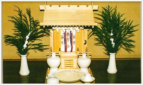 ご神符の祀り方