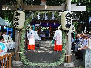 綱越神社(つなこしじんじゃ)